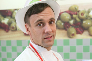 Trollied. Kieran (Nick Blood). Copyright: Roughcut Television.