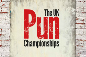 The UK Pun Championships.