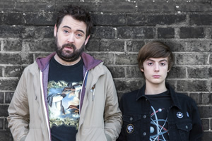Uncle. Image shows from L to R: Andy (Nick Helm), Errol (Elliot Speller-Gillott). Copyright: Baby Cow Productions.