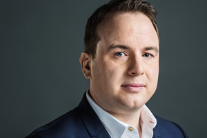 Unspun With Matt Forde. Matt Forde. Copyright: Avalon Television.