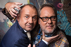 Vic & Bob to make a film