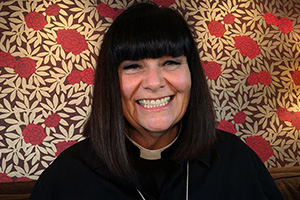 The Vicar Of Dibley. Geraldine Grainger (Dawn French). Copyright: Tiger Aspect Productions.