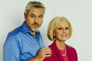 Walliams & Friend. Image shows from L to R: David Walliams, Joanna Lumley.