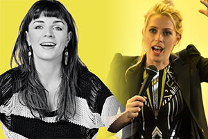 What's Normal?. Image shows from L to R: Aisling Bea, Sara Pascoe.