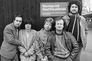 Who Dares Wins.... Image shows from L to R: Tony Robinson, Julia Hills, Jimmy Mulville, Philip Pope, Rory McGrath.