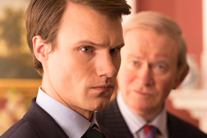 The Windsors. Image shows from L to R: Wills (Hugh Skinner), Charles (Harry Enfield). Copyright: Noho Film and TV.