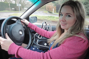 Women Talking About Cars. Victoria Coren Mitchell. Copyright: BBC.