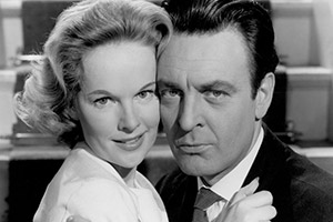 Your Money Or Your Wife. Image shows from L to R: Peggy Cummins, Donald Sinden.