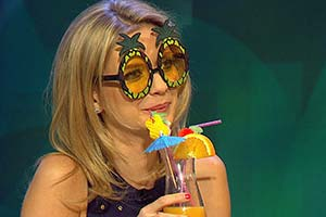 8 Out Of 10 Cats Does Countdown. Rachel Riley.