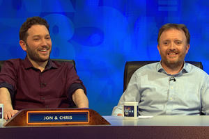 8 Out Of 10 Cats Does Countdown. Image shows from L to R: Jon Richardson, Chris McCausland.