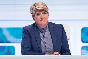 A League Of Their Own. Clare Balding. Copyright: CPL Productions.
