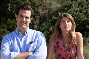 Catastrophe. Image shows from L to R: Rob (Rob Delaney), Sharon (Sharon Horgan). Copyright: Avalon Television.