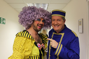Celebrity Juice. Image shows from L to R: Danny Dyer, Piers Morgan.