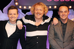 Celebrity Juice. Image shows from L to R: Ant McPartlin, Leigh Francis, Declan Donnelly.