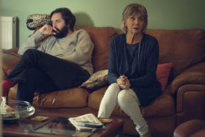 The Cockfields. Image shows from L to R: Simon (Joe Wilkinson), Sue (Sue Johnston).