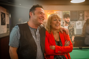Cold Feet. Image shows from L to R: Pete Gifford (John Thomson), Jenny Gifford (Fay Ripley).