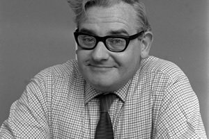 Comedy Legends. Ronnie Barker. Copyright: Shutterstock.