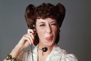 Comedy Legends. Lily Tomlin. Copyright: 3DD.