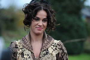 Drunk History. Disgusted Lady (Vicky Pattison). Copyright: Tiger Aspect Productions.