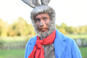 Drunk History. Peter Rabbit (Blake Harrison). Copyright: Tiger Aspect Productions.
