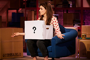 Guessable. Aisling Bea. Copyright: Tuesday's Child.