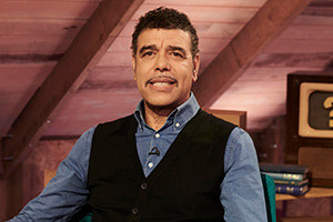 Guessable?. Chris Kamara. Copyright: Tuesday's Child.