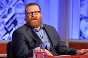 Have I Got News For You. Frankie Boyle. Copyright: Hat Trick Productions.