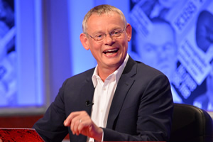 Have I Got News For You. Martin Clunes.