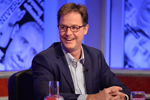 Have I Got News For You. Nick Clegg. Copyright: Hat Trick Productions.