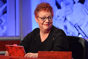 Have I Got News For You. Jo Brand.