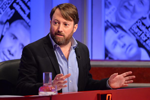 Have I Got News For You. David Mitchell.
