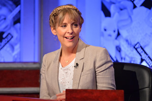 Have I Got News For You. Mel Giedroyc.