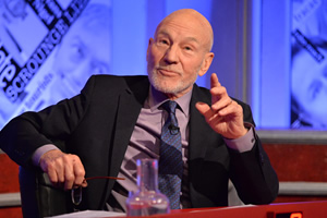 Have I Got News For You. Patrick Stewart.