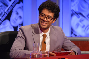 Have I Got News For You. Richard Ayoade.