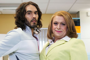Hospital People. Image shows from L to R: Tyler Watt (Russell Brand), Susan Mitchell (Tom Binns).