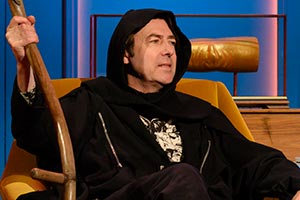 Hypothetical. Jonathan Ross. Copyright: Hat Trick Productions.