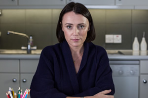 Inside No. 9. Louise (Keeley Hawes). Copyright: BBC.