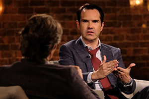 John Bishop In Conversation With.... Jimmy Carr. Copyright: Lola Entertainment.