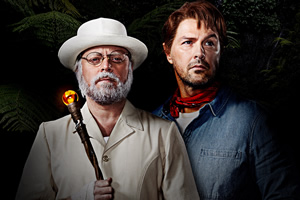 The Keith & Paddy Picture Show. Image shows from L to R: John Hammond (Leigh Francis), Grant (Paddy McGuinness). Copyright: Talkback.
