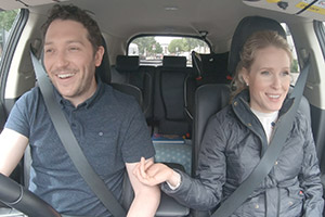 Meet The Richardsons. Image shows from L to R: Jon (Jon Richardson), Lucy (Lucy Beaumont).