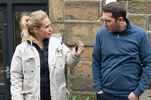 Meet The Richardsons. Image shows from L to R: Lucy (Lucy Beaumont), Jon (Jon Richardson).