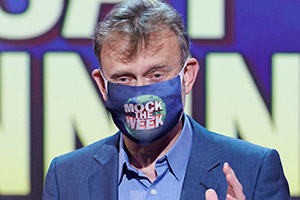 Mock The Week. Hugh Dennis. Copyright: Angst Productions.
