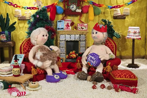 Nudinits - Bernard and Barbara's Big Ding Dong