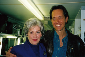 Our Friend Victoria. Image shows from L to R: Victoria Wood, Richard E. Grant. Copyright: Phil McIntyre Entertainment.