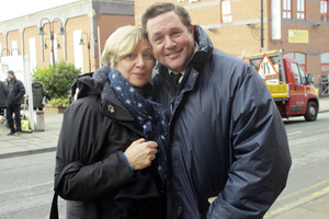 Our Friend Victoria. Image shows from L to R: Victoria Wood, Michael Ball. Copyright: Phil McIntyre Entertainment.