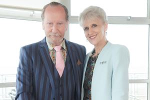 The Rebel. Image shows from L to R: Charles (Bill Paterson), Margaret (Anita Dobson). Copyright: Retort.