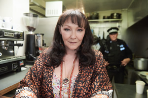 The Rebel. Angela (Frances Barber). Copyright: Retort.