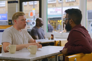 Rob Beckett - 'coming out' as a comedian