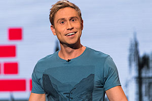 The Russell Howard Hour. Russell Howard. Copyright: Avalon Television.