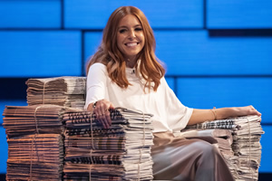 The Russell Howard Hour. Stacey Dooley. Copyright: Avalon Television.